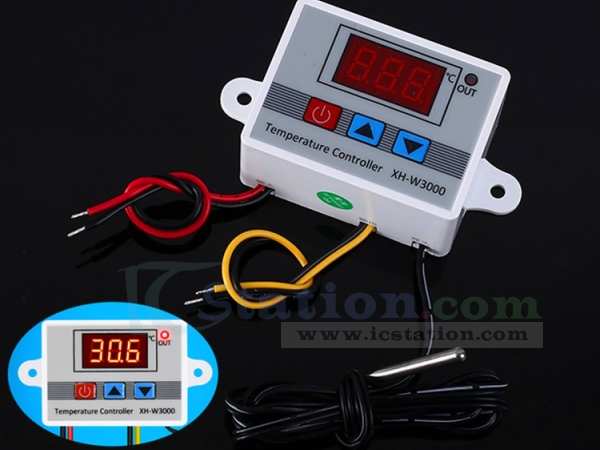 Temp Regulator Temperature Alarm Controller Thermometer Digital Thermostat