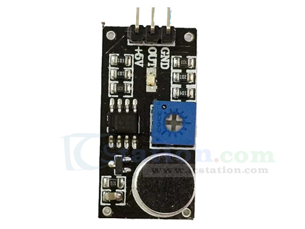 LM393 Sound Detection Voice Sound Sensor Module Electret Transducer