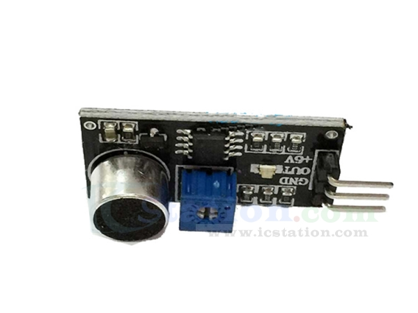 LM393 Sound Detection Voice Sound Sensor Module Electret Transducer