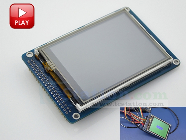 3 2 Inch Color TFT LCD Display Module Touch Screen Module