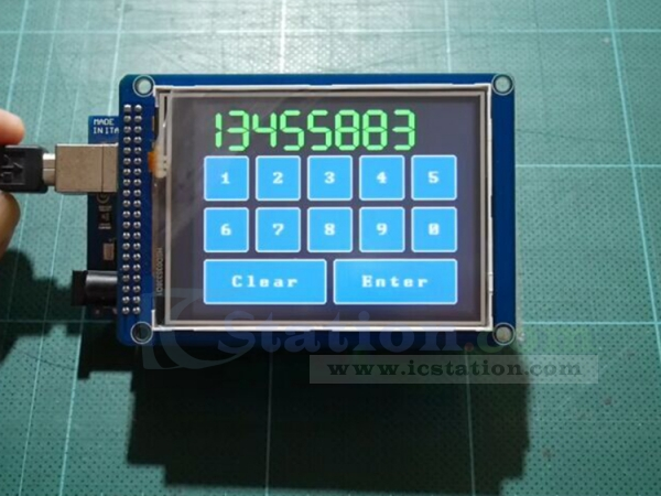 3 2 Inch Color TFT LCD Display Module Touch Screen Module with SD