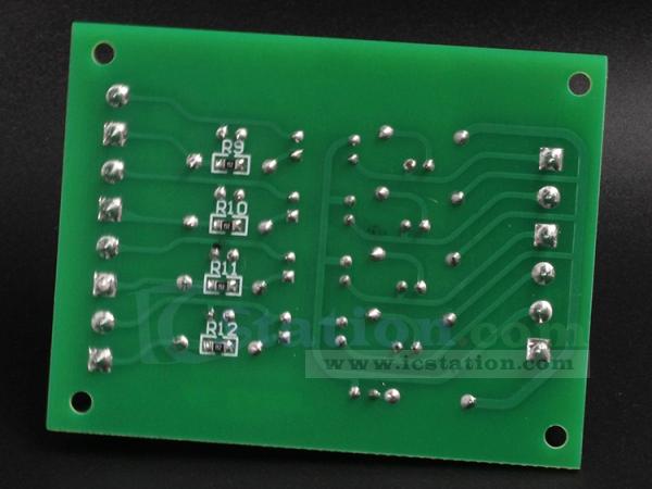 3.3V to 24V 4Bit Optocoupler Isolator PLC Signal Level Voltage Converter Board