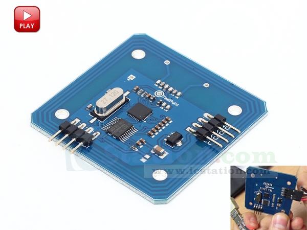 ICStation Mifare Wifi Board RC522 RFID 13 56Mhz Module