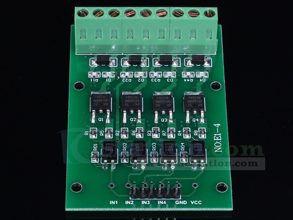 fast high current optocoupler