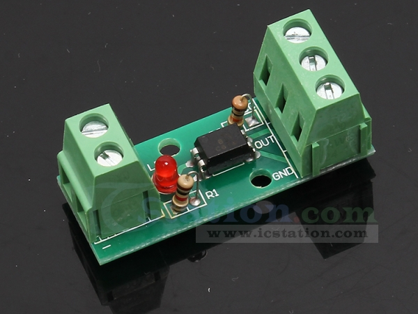 80KHz 1-Channel Optocoupler Isolation Module Input 12V No