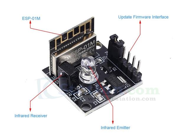 Infrared Transceiver ESP8285 Wireless Transceiver Module