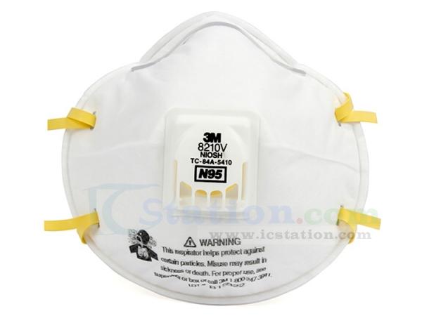 3m face mask n95 8210v
