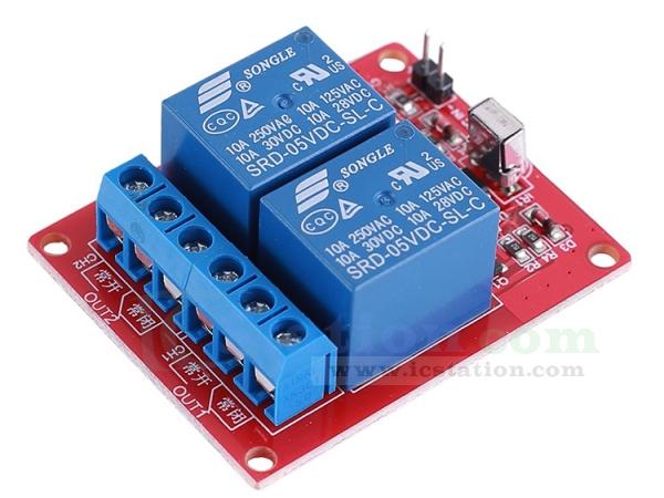 Funkschalter Fernbedienung Modul Micro Power Wireless Power Supply Controller Lockless Switch HF Funk-Transceiver Modul 2A DC 3,5V-12V Treiber mit 1 Modul /& 1 Fernbedienung