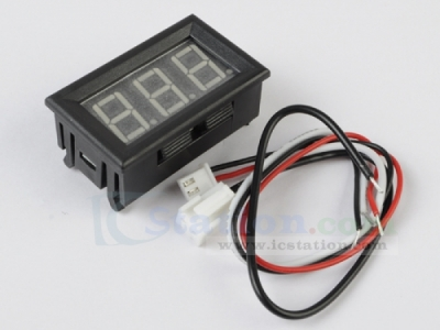 Green LED Panel Meter DC 0 To 10A Mini Digital Ammeter with Box