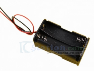 4*AA 4xAA 6V Battery Holder Box Battery Box with Wire Lead