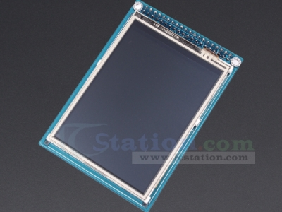 "ICStation 3.2"" TFT LCD Module Display + Touch Panel + PCB adapte"