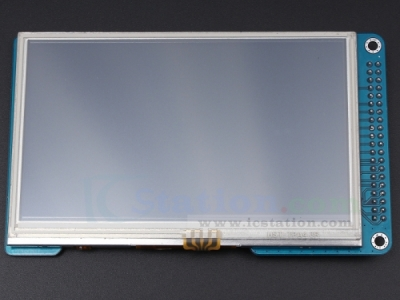 "ICStation 4.3"" TFT LCD Module Display + SD Socket + Touch Panel"