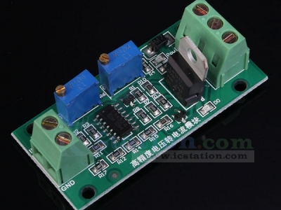 0-10V to 4-20mA Isolated Voltage to Current Module Linear Output with Indicator Light