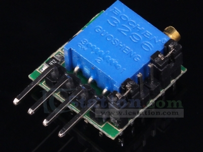 AT43H Delay Circuit Timing Switch Module 1s-20h 7V-27V 1500mA 15x11x8mm
