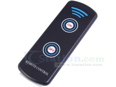 Super Thin 2-Key Remote Control NEC Coded Format 38KHz 15-20m 116x42x7mm