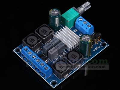 2x50W TPA3116D2 Dual Channel Stereo Digital Amplifier Board Module DC 4.5-27V