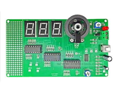 5V Motor Rotation Speed Testing Tester Display Suite DIY Kits 128x73mm for Speed Measurement