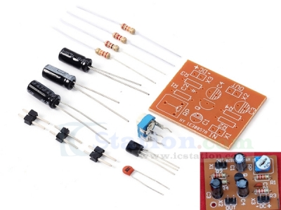 DIY Kit DC 12V Typical Division Voltage Bias Single Tube Low Frequency Amplifier