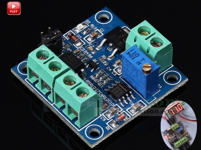 PWM to Voltage Converter Module 0%-100% to 0-10V PWM Adjustable Converter Power Module for PLC MCU Digital to Analog Signal