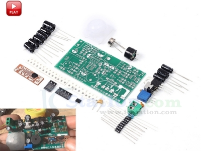 Pyroelectric Human IR Infrared Sensor Detector Module DIY Kit Anti-theft Circuit Sensor Module for Home Security System