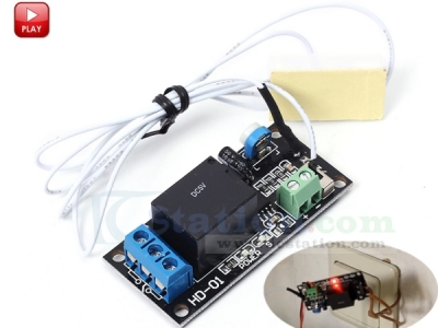 Door Magnet Relay Module DC 5V Normally Closed Reed Switch Control Switch for Arduino