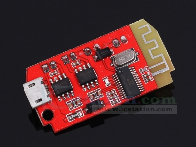 CT14 Micro 4.2 Stereo Bluetooth Power Amplifier Board Module 5VF 5W+5W w/ Micro USB Charging Port