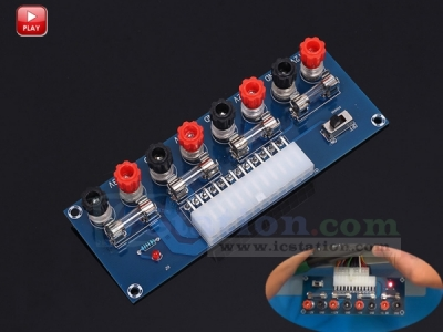 24Pin XH-M229 Desktop PC Power Output ATX Transfer Board Supply Power Output Connection Module