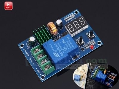 Undervoltage Control Module Over-discharge Protection Switch Battery Charge Controller Module for 6V-60V Battery