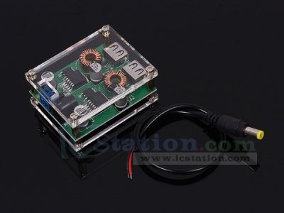 DC-DC Step Down Car Charger Power Module 9V//12V//24V to 5V 3A USB Buck Board P⑤