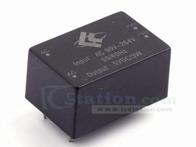 220V to 5V 600mA 3W Switch Power Supply Module AC-DC Isolated Power Module