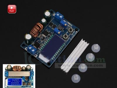Adjustable Step Up Step Down Power Supply Module Boost Buck Converter LCD Display Voltage Regulator