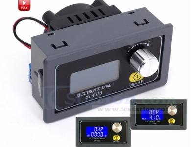 DC Electronic Load Tester Battery Capacity 35W 5A Adjustable Constant Current Aging Resistor Discharger LCD Voltage Current Power Display