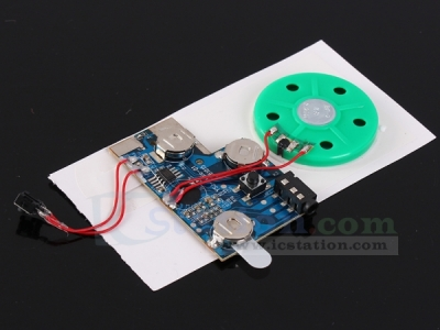 Button Control Recordable Voice Module 120S Greeting Card Music Sound Talk Chip Musical Player
