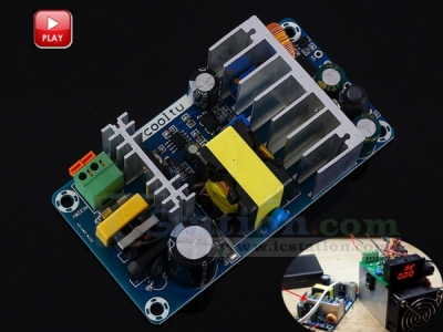 AC-DC Converter 110V 220V to 12V 24V 36V 100W Dual Output Isolation Switching Power Supply Module Adjustable Buck Step Down Module