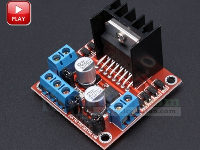L298N Motor Drive Controller Board Module Dual H Bridge DC Stepper for Arduino