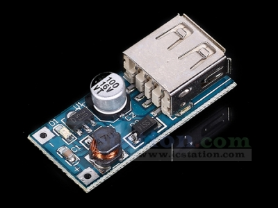 DC to DC Step Up Boost Converter Power Supply Module Voltage Regulator Module USB Charger DC 0.9-5V to DC 5V 600mA