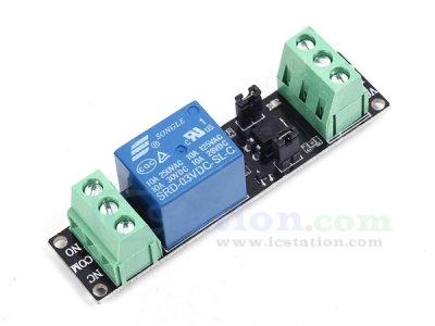 3V High Level Driver Module Optocouple Relay Module for Arduino