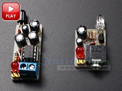 ICStation DIY Kit Infrared Wireless Sound Transmission Module