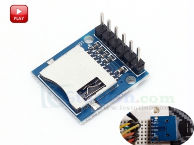 Mini Micro SD Card Module Memory Module for Arduino