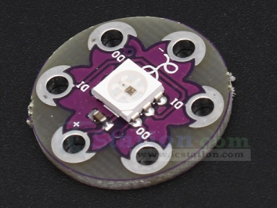 LilyPad Pixel Board WS2812 5050 RGB LED Module for Arduino
