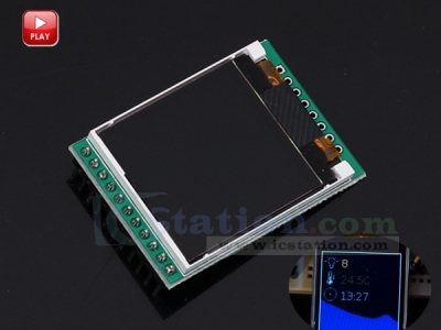 5V TFT 1.44-inch 128*128 Colorful LCD Screen ST7735 Driver Module Compatible with Arduino Replace 5110 LCD
