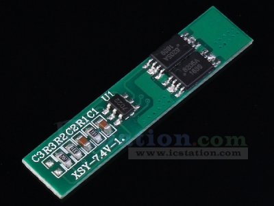 7.4V 2.5A Lithium Battery Protection Board  Overcharge Protection Over Discharge Protection