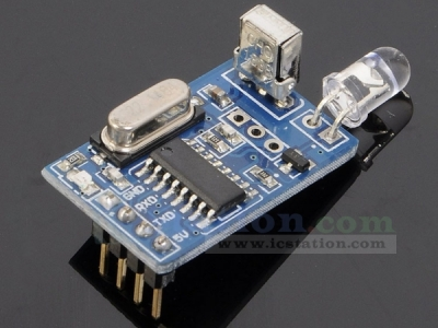Infrared Encode Decode Module Wireless Serial Port Communication Transceiver NEC Code