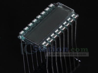 GDC04520 6-Bit LCD Display TN Positive Display 3.3V 22.5*12.2*2.8mm