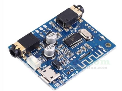 Bluetooth 5.0 Stereo Audio Decoder Module Dual Channel Audio Receiver Micro USB 5V