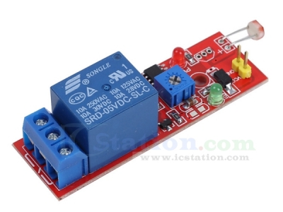 5V Photoresistor Sensor Plus Relay Module Light Control Detection Switch Automatic Street Light