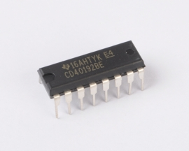 CD40192 Presettable Up/Down Counter DIP-16 TI IC