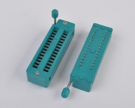 28 Pin Test Universal ZIF Narrow IC Socket