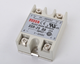 SSR-25DA Solid-State FOTEK 20A Minitype DC-AC One-Phase Relay