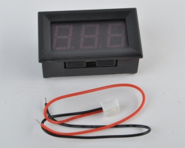 4-30V Digi Red MiNi LED Auto Car Truck Voltmeter Panel Meter
